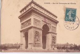 CARTE POSTALE ANCIENNE 75 PARIS ARC DE TRIOMPHE DE L ETOILE  EDITIONS / A.B N° - Arc De Triomphe