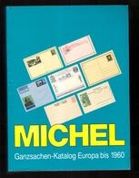 Catalogue De Cotation Michel Entier Postal Entiers Postaux Europe Neuf Sous Blister Ganzsachen Katalog Europa - Cataloghi