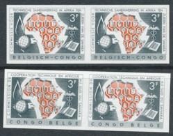 365/66 Non Dentelés - Neuf Sans Charnières - Belgisch-Kongo