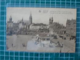 Oostende Ostende Panorama De La Ville Et La Sortie De La Gare - Oostende