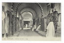 CPA - Tunisie - Kairouan - Intérieur Du Souk - La Ville Sainte - Tunisia