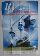 Affiche Publicitaire Abribus - Sport - Golf Féminin - 10ème Masters Evian - Haute Savoie. - Andere