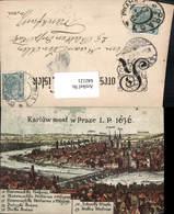 642121,Karluw Most W Praze 1636 Nach Stich Prag Praha - Ansichtskarten