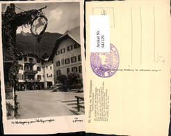 642129,Foto Ak Sankt Wolfgang Im Salzkammergut Pub Gastberger 168 - 1939-45
