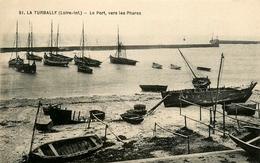 La Turballe - Le Port , Vers Les Phares - Bateaux De Pêche - La Turballe