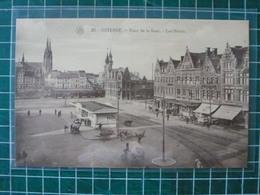 Oostende Ostende Plaçe De La Gare - Les Hôtels - Oostende