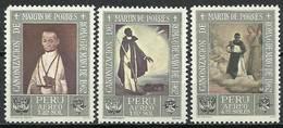Peru 1965 Mi 647-649 MNH ( ZS3 PRU647-649dav86B ) - Chiens