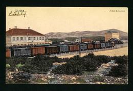 Opcina - Croatia / Bahnhof - Railway Station 1915  VF USED  POSTCARD - Croatia