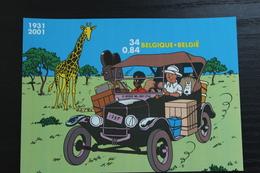 BL93 'Kuifje In Afrika - Tintin Au Congo' - Ongetand - In Perfecte Staat! - Comics