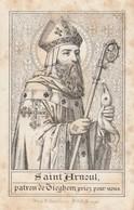 St Arnoul / Patron De TIEGHEM / Prière - Santini
