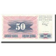 Billet, Bosnia - Herzegovina, 50 Dinara, 1992, 1992-07-01, KM:12a, NEUF - Bosnia Y Herzegovina