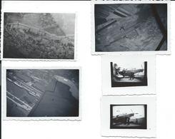 Lot 5 Photos Aviations Dont 3 Vues Aériennes Divers - Autres