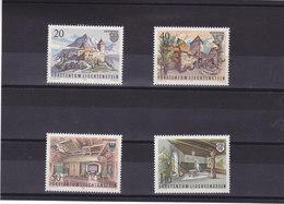 LIECHTENSTEIN 1981 CHÂTEAU Yvert 721-724 NEUF** MNH - Liechtenstein