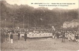 Dépt 21 - ARNAY-LE-DUC - Grandes Fêtes Des 14-15-16 Septembre 1912 - Festival De Gymnastique à L'Arquebuse - Arnay Le Duc