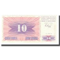 Billet, Bosnia - Herzegovina, 10 Dinara, 1992, 1992-07-01, KM:10a, NEUF - Bosnia Erzegovina