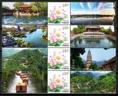 China 2011 / Flowers Landscapes MNH Flores Paisajes Blumen Fleurs / Cu15135  41-41 - Vegetales
