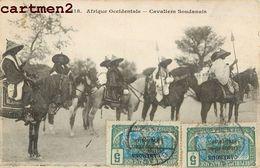 CAVALIERS SOUDANAIS TYPE SOUDAN AFRIQUE OCCIDENTALE - Soudan