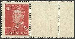 ARGENTINA: GJ.1041CD, 40c. San Martín WITH RIGHT LABEL, VF Quality! - Argentina