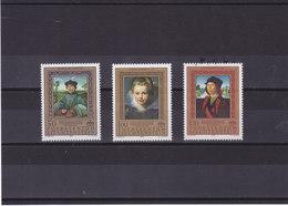 LIECHTENSTEIN 1985 PEINTURES RUBENS RAPHAËL Yvert 822-824 NEUF** MNH - Liechtenstein