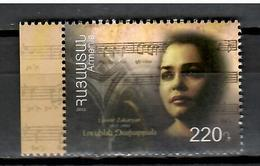 Armenia 2012 / Music Opera Singer Lusine Zakaryan MNH Música Musik / Cu9626  1-7 - Música
