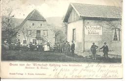 Gruss Von Der Wirtschaft Kälbling Beim Schäferthal - France
