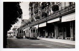 Montreux Palace Hotel Tram Original Foto 1956  9x14cm  - -   570 - VD Waadt