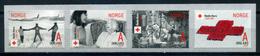 Norway 2015 Noruega / Red Cross MNH Cruz Roja Rotes Kreuz / Jc12   5-9 - Cruz Roja
