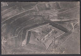 CPA 55 -  VERDUN. Fort De Douaumont,  Carte Photo Aérienne, Guerre 1914-18. - Verdun