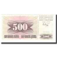 Billet, Bosnia - Herzegovina, 500 Dinara, 1992, 1992-07-01, KM:14A, NEUF - Bosnia Erzegovina