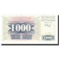 Billet, Bosnia - Herzegovina, 1000 Dinara, 1992, 1992-07-01, KM:15a, NEUF - Bosnia Y Herzegovina