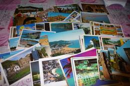 LOT DE 125 CARTES ESPAGNE - Cartes Postales