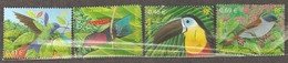 France: Full Set Of 4 Used Stamps, Birds From French Oversee Territory, 2003, Mi#3687-3690 - Usados