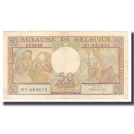 Billet, Belgique, 50 Francs, 1956, 1956-04-03, KM:133b, TB+ - [ 6] Staatskas