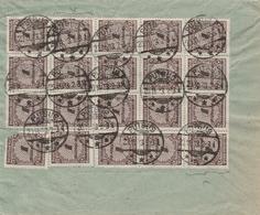 Allemagne Lettre Inflation Putbus 1923 - Allemagne