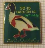 3615 GABION 14 CANARD COLVERT ACOMC Association Des Chasseurs Aux Oiseaux Migrateurs Du Calvados - Vereinswesen