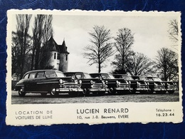 "EVERE-----cpa-""Location De Voitures De Luxe""-Lucien Renard - Evere"