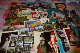 LOT DE 30 CARTES POUPEES... - Postkaarten