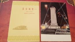 Peking / Beijing Landscapes - 6 PCs Lot - CHINA Postcard   - Old PC 1950s - Cina