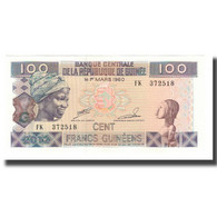 Billet, Guinea, 100 Francs, 2012, KM:35b, NEUF - Guinée