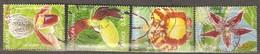 France: Full Set Of 4 Used Stamps, Orchides, 2005, Mi#3914-3917 - Usados
