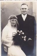 AK Foto Brautpaar - Hochzeit - 1931 (45245) - Hochzeiten