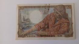 BILLET DE 20 FRANCS PÊCHEUR - 1871-1952 Antichi Franchi Circolanti Nel XX Secolo