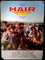 Aff Orig Ciné HAIR 40X60cm Milos Forman 1979 John Savage - Plakate & Poster
