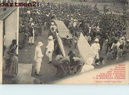 VOYAGE DU MINISTRE DES COLONIES A LA COTE D'AFRIQUE RESIDENCE D'ALLADA DAHOMEY - Dahomey