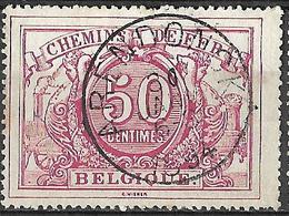 C0.852: ARENDONCK: Poststempel:TypeE9: TR11 - Bahnwesen