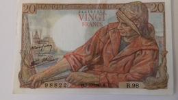 BILLET DE 20 FRANCS PÊCHEUR - 1871-1952 Anciens Francs Circulés Au XXème