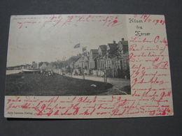 Grete RHilsen , Alte Karte 1904 - Dänemark