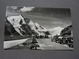Großklokner Oldtimer SST Schmitten Höhenbahn Foto AK Ca. 1930 - PKW
