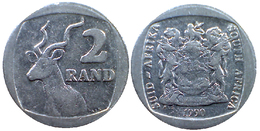 02506 MONETA COIN SOUTH AFRICA 2 RAND 1990 - Sudáfrica