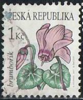 Tchéquie 2007 Yv. N°470 - Cycamen - Oblitéré - Repubblica Ceca